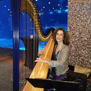 Borden Harpist | Harp Music By Lisa Handman (harpnotes)