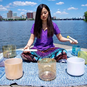Boston New Age Singer | Crystal singing bowl performer/singer, Alma