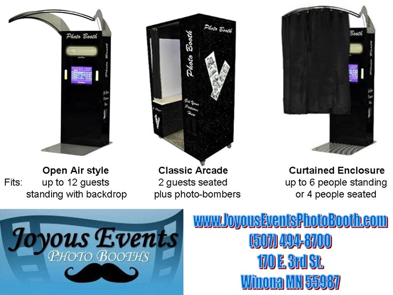 Joyous Events Photo Booth LLC - Photo Booth - Winona, MN