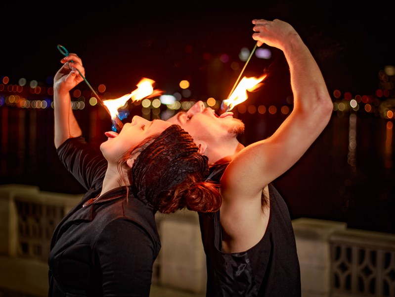 Tribe of Being Entertainment - Fire Dancer - Saint Augustine, FL