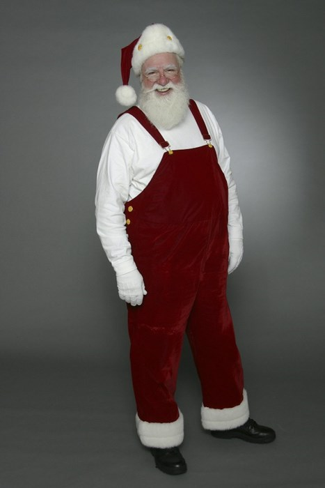 Santa Steve ready to work for you.
