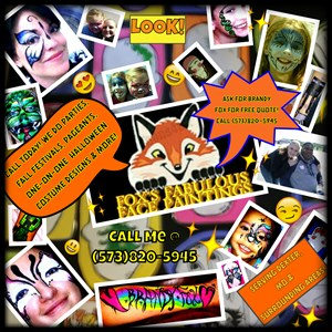 Dexter, MO Face Painter | FOX'S FABULOUS FACE PAINTINGS & MORE