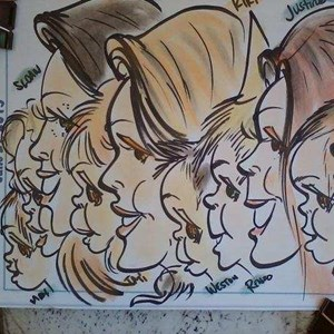 Inverness Caricaturist | Caricatures 4 Every Event