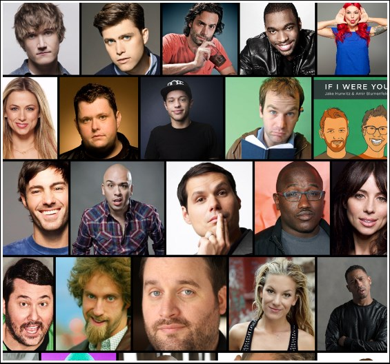 Access to all Celebrity Comedians