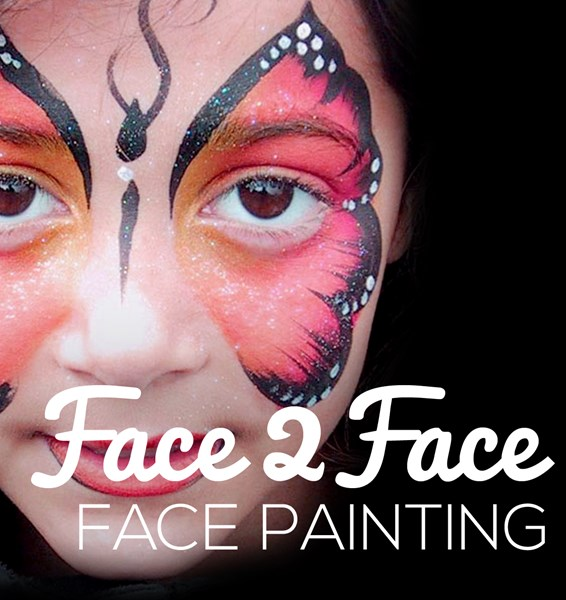 Face 2 Face - Face Painting - Face Painter - North Dartmouth, MA