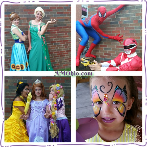 Amazing Moments Parties, llc - Costumed Character - Huron, OH