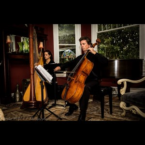 Swannanoa Cellist | Orlando Harp and Cello Duo