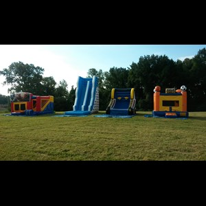 Five Points Party Inflatables | Bounces By Barnes Events & Party Rentals