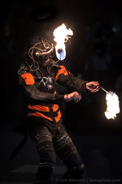 The Mythmaker - Fire Dancer - Oakland, CA