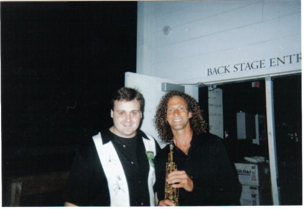 Opening for Kenny G.