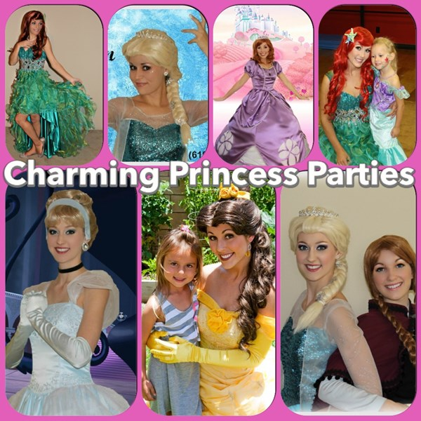 Charming Princess Parites - Princess Party - Temecula, CA