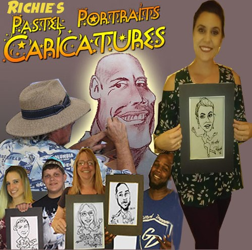 Richie's Caricatures - Caricaturist - Hollywood, FL