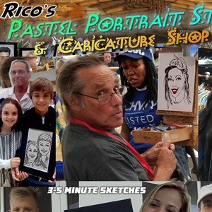 Hollywood, FL Caricaturist | Rico's Caricature Studio