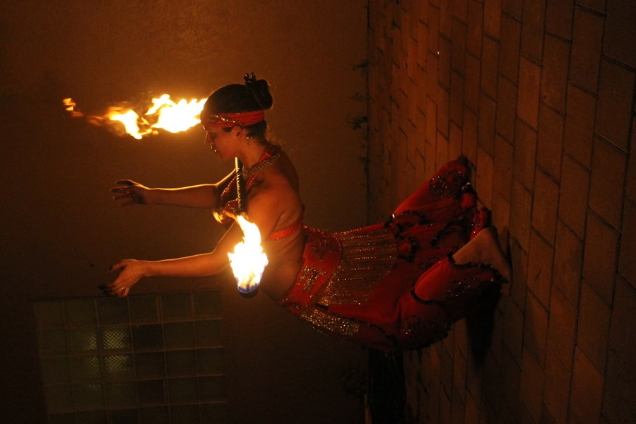 Saleema - Fire Dancer - Fort Lauderdale, FL