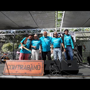 Napa Oldies Band | CONTRABAND