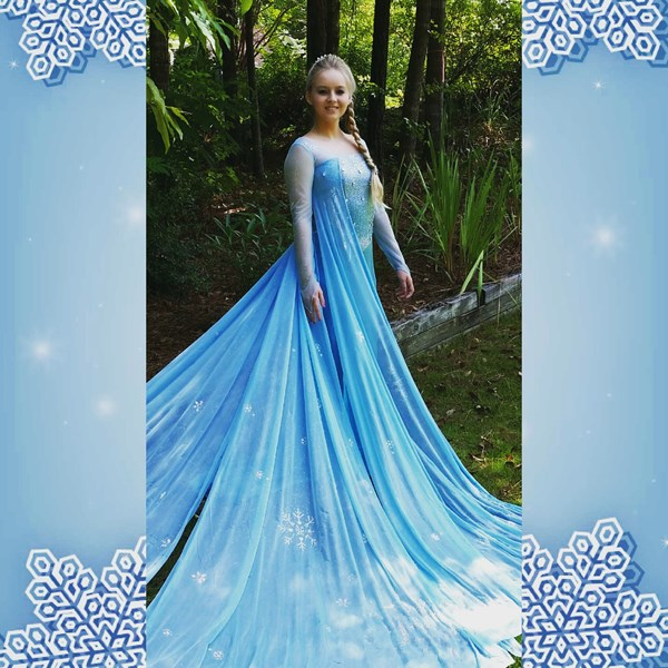 Frozen Elsa Impersonator - Princess Party - Columbus, GA