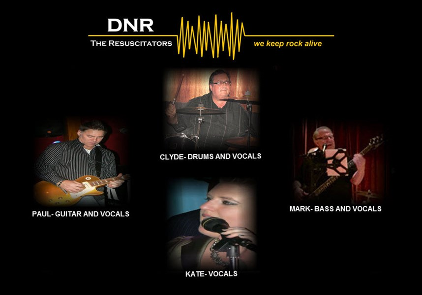 DNR- THE RESUSCITATORS - Cover Band - Anaheim, CA