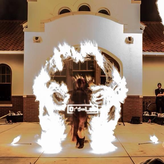 Odd-Lab - Fire Dancer - El Paso, TX