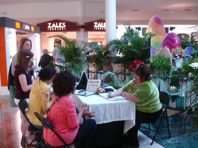Florida Mall Easter Event