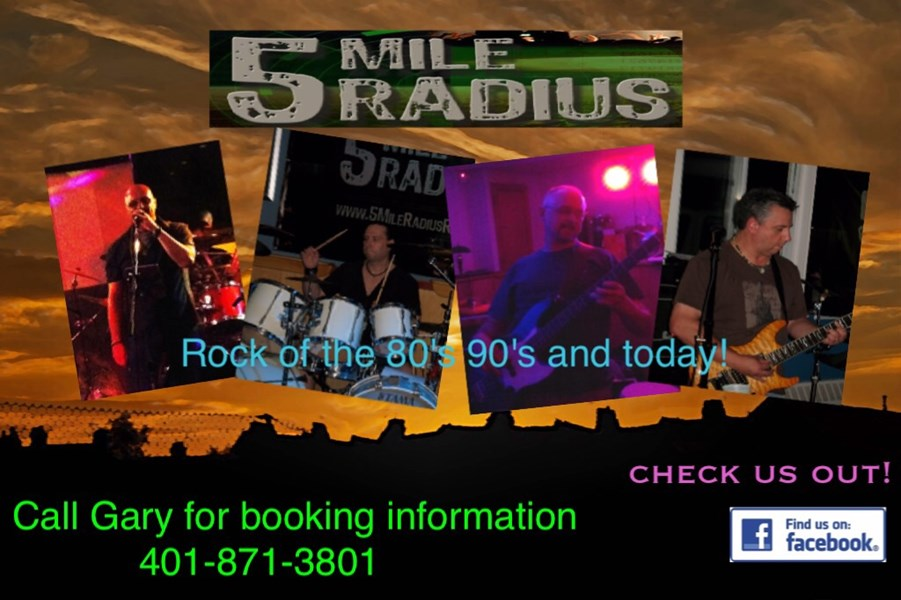 5 mile radius - 90s Band - Lincoln, RI