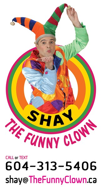 SHAY - The Funny Clown - Clown - Richmond, BC