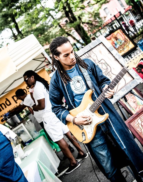 Kavion Sabio - Blues Guitarist - New York, NY