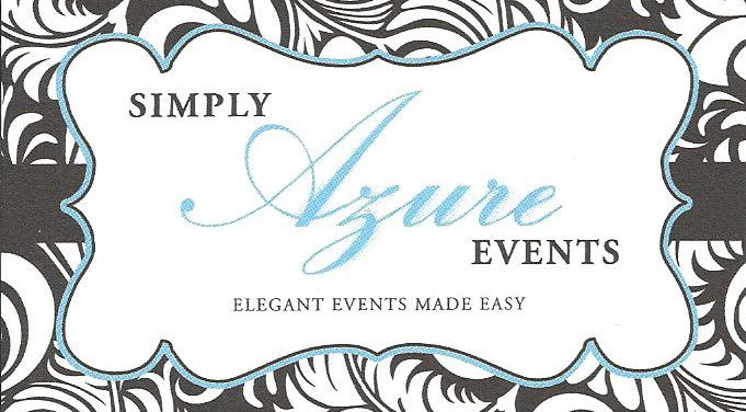 Simply Azure Events - Wedding Planner - Bartlett, IL