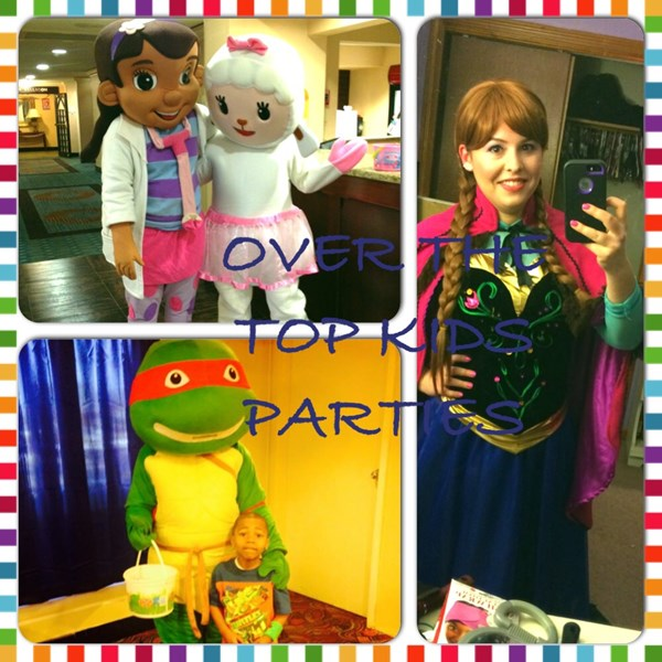 Over The Top Kids Parties Tampa - Costumed Character - Tampa, FL