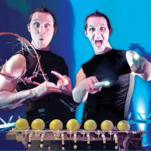 AudioBody : Thrilling High-Tech Comedy - Circus Performer - Austin, TX