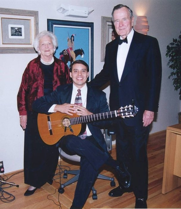 Performing for President & Mrs Bush