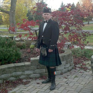 Woodland Bagpiper | Shawn McDonald Piping
