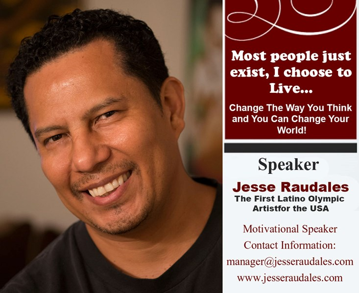 Olympic Artist Jesse Raudales - Motivational Speaker - Raleigh, NC