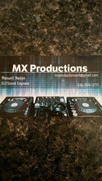 MXProductions - DJ - Saranac Lake, NY