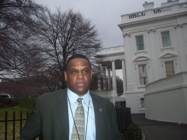 On duty at White House
