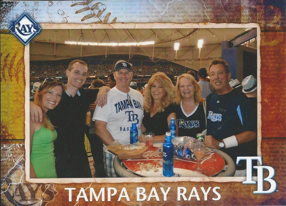 Go Rays with friends!