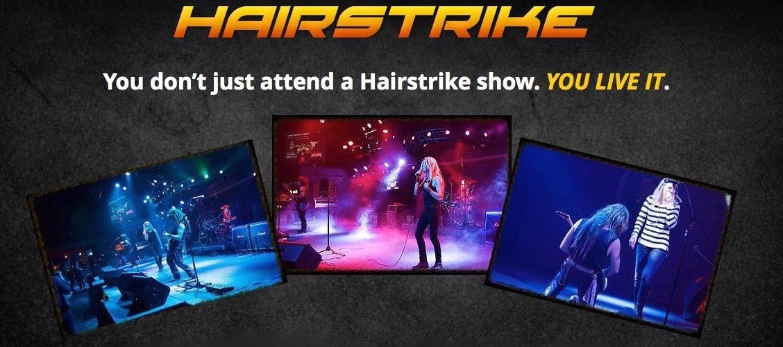 Hairstrike - Cover Band - Redwood City, CA