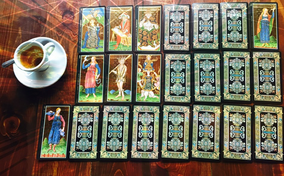 Special Tarot reading for reception