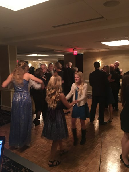Dancing at the Wedding Reception