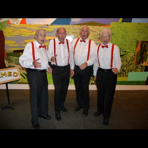 Delray Beach A Cappella Group | CAMEO Barbershop Quartet