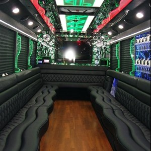 Crystal River Funeral Limo | Party Bus VIP's