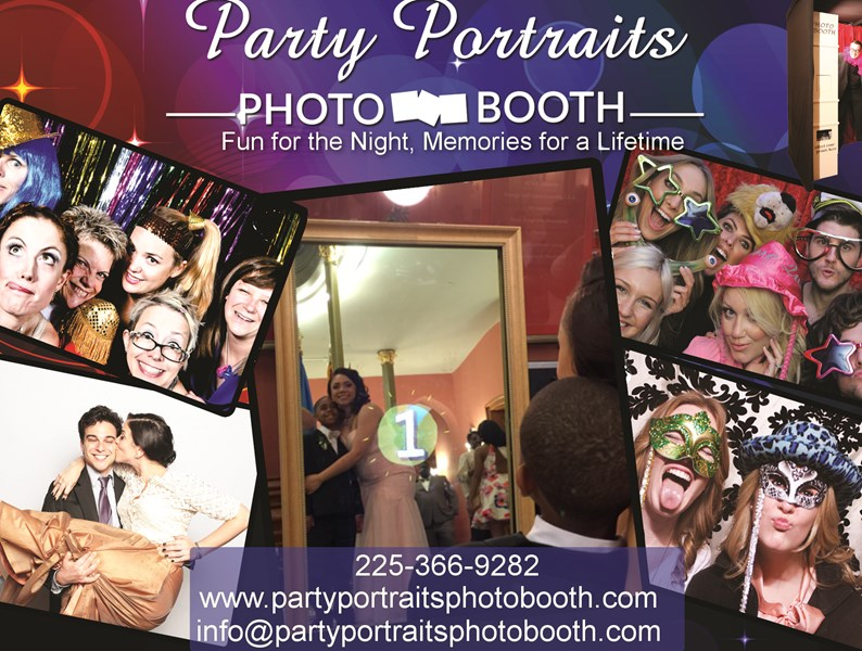 Party Portraits Photo Booth - Photo Booth - Baton Rouge, LA