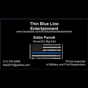 Plano, TX Event DJ | Thin Blue Line Entertainment