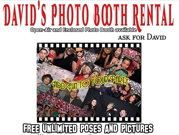 David's Photo Booth - Photo Booth - Chino Hills, CA