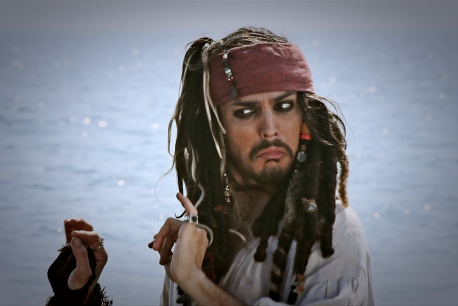 Captain Jack  - Johnny Depp Impersonator - New York City, NY