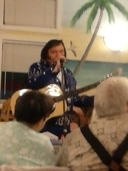 Roy Gaddy - Elvis Impersonator - Kershaw, SC