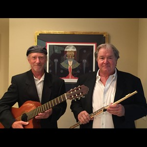 Del Mar Acoustic Duo | Improm2 Flute, Guitar, Bass Duo/Trio