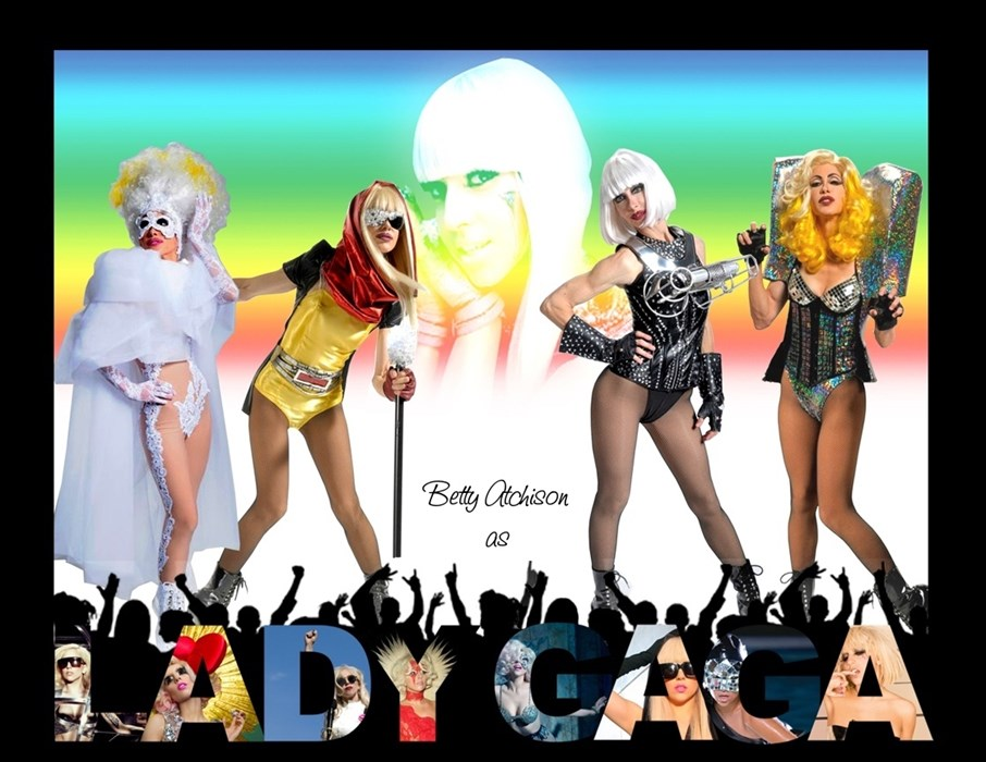 BETTY AS LADY GAGA - MONTAGE
