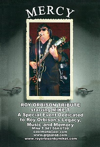 MIKE T - Roy Orbison Tribute Act - North Port, FL