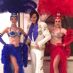 Pioche Frank Sinatra Tribute Act | Las Vegas Elvis Impersonators and Showgirls