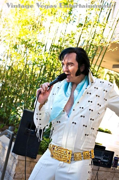 Elvis tribute Shane Paterson